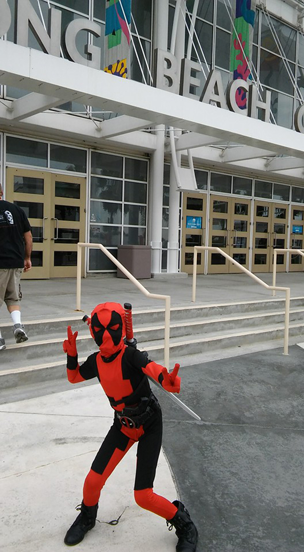 My Daughter Dresses Up As Deadpool