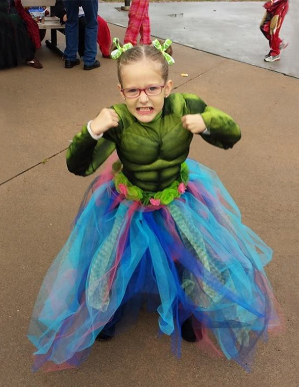 My Daughter Loves All The Avengers, But The Hulk Is Her Favorite