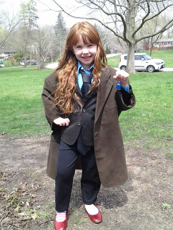 My Daughter As The 10th Doctor From Doctor Who