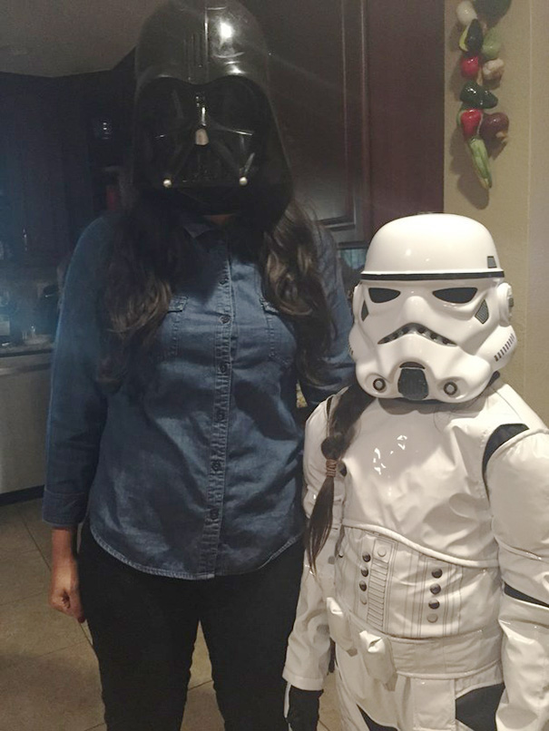 Nancy Wanted To Be A Stormtrooper