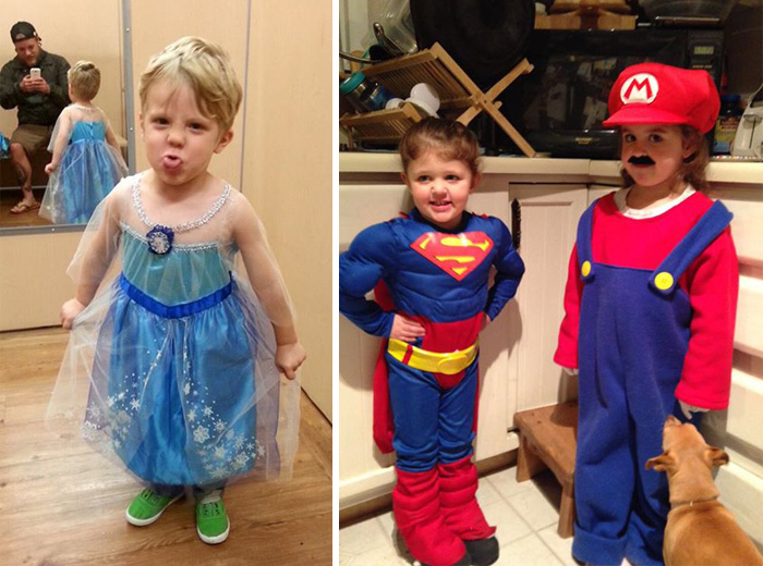 79 Kids Who Wore Gender-Defying Halloween Costumes