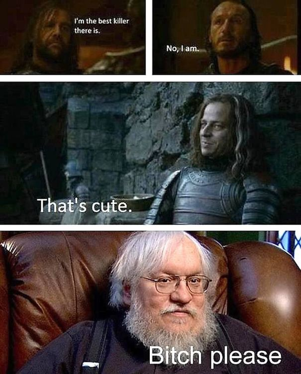 Grrm Is On A Killing Spree