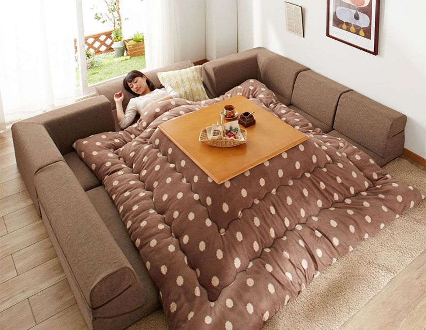 Kotatsu Anese Heating Bed Table 11