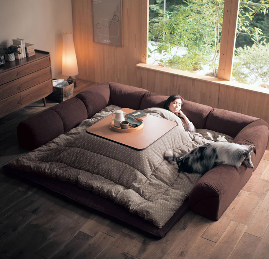 Kotatsu Anese Heating Bed Table 5