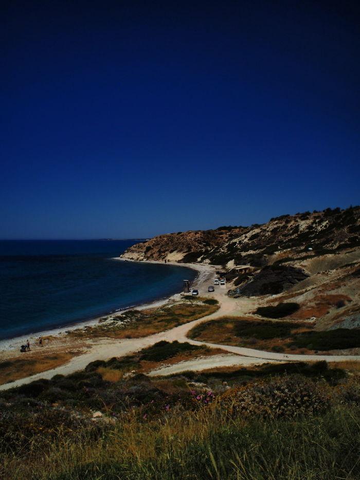 Kouklia Beach , Paphos