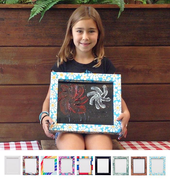 Oranguframe – Snap Together Chipboard Art Frames