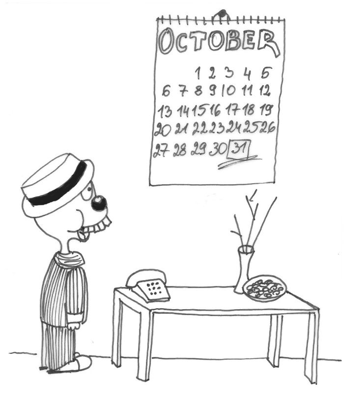 Lucky's Lucky Day: Funny  Halloween Comics
