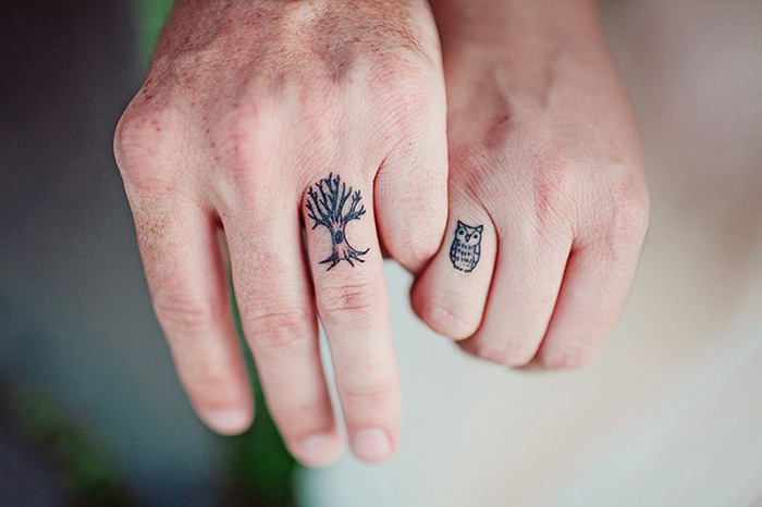 53 Brave Couples Who Chose Matching Wedding Tattoos Instead Of Rings