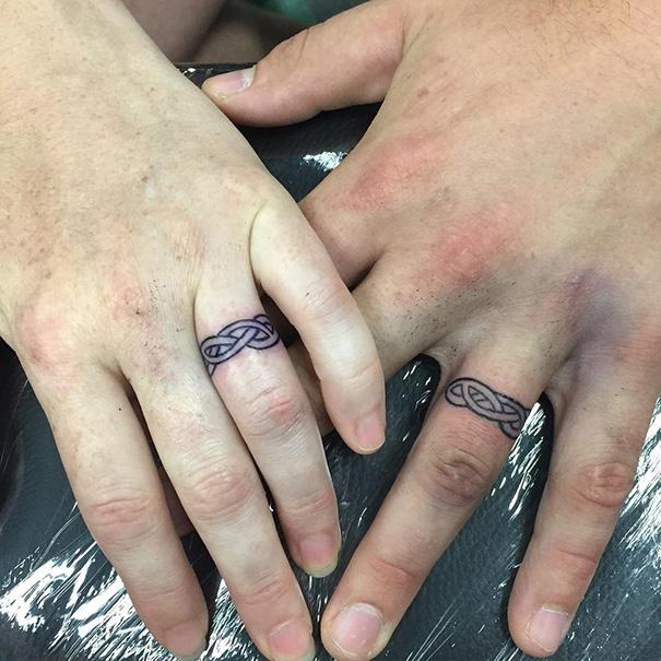 Irish Wedding Ring Tattoos: Matching Wedding Tattoos