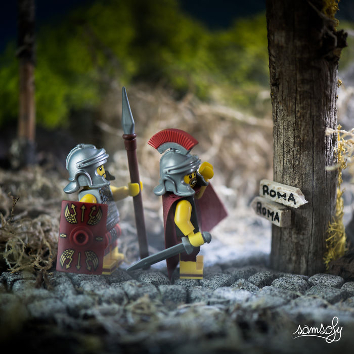 Miniature LEGO Adventures That I Create In My Job (Part 3)