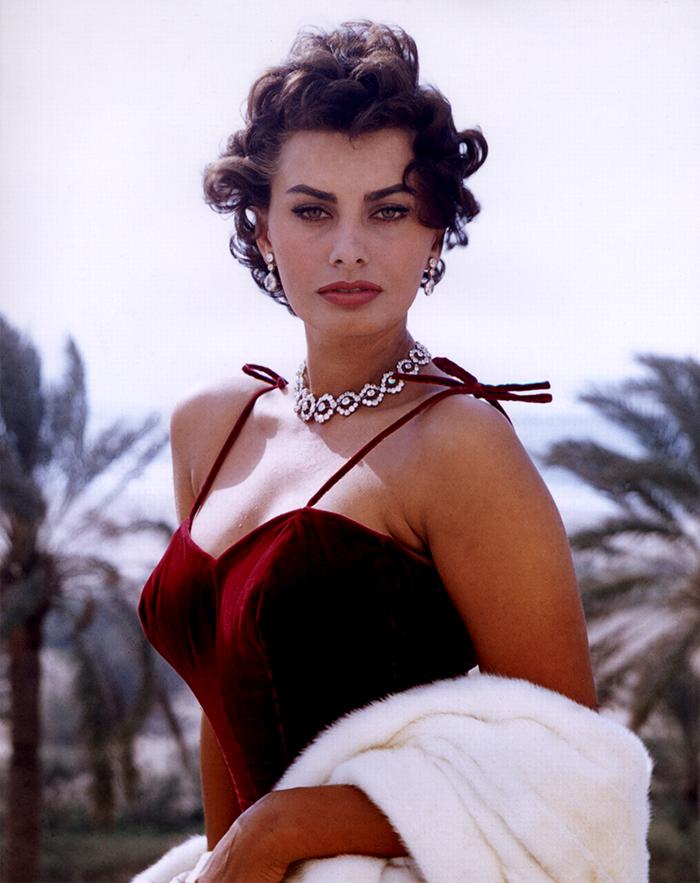 Sophia Loren, Italian Film Actress, Who Won An Oscar, Grammy, And Golden Globe Awards