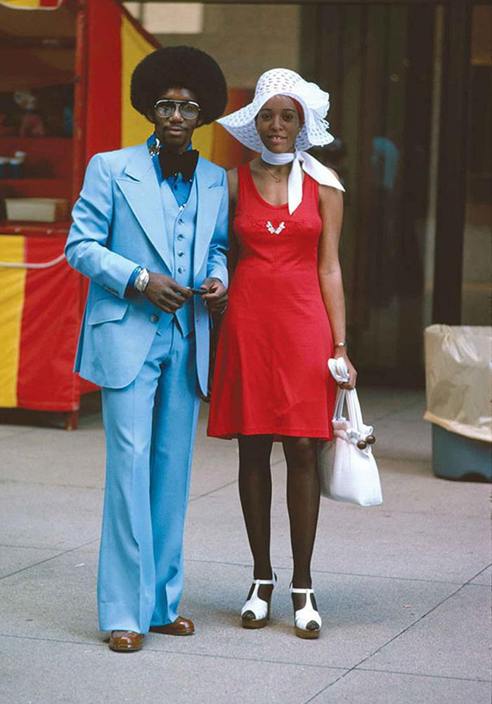 Couple On Michigan Avenue, Chicago (1975)