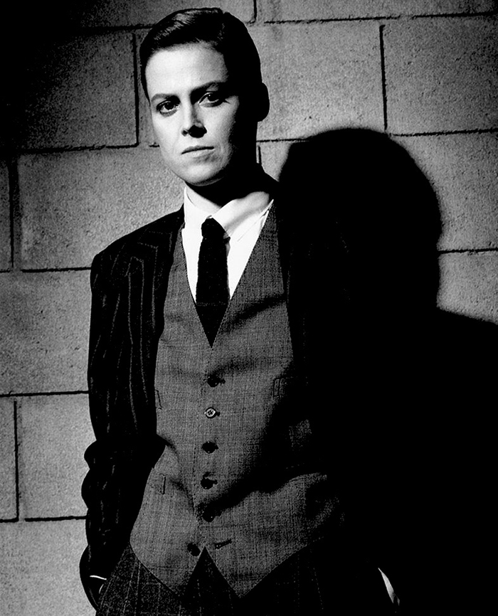 Sigourney Weaver Dressed As A Man, Los Angeles (1983)