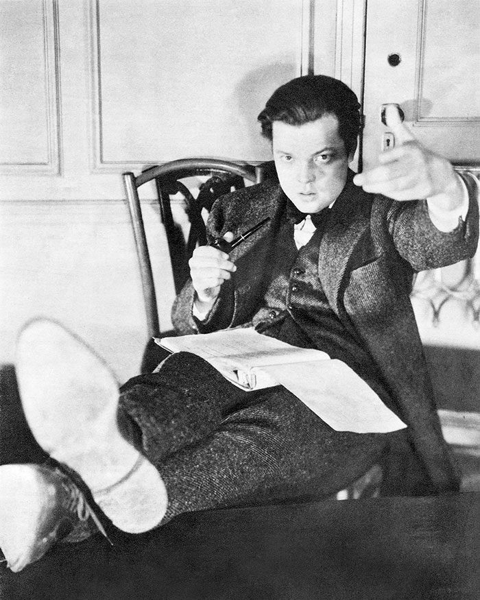 American Actor and Director Orson Welles (1938)