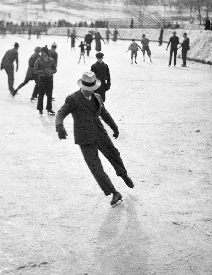 A Man Ice Skating (1937)