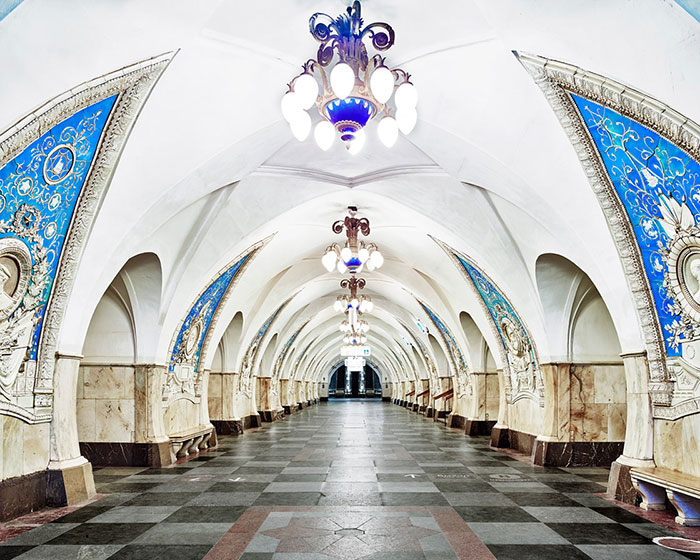 The Hypnotizing Beauty Of Russia's Historic Metro Stations