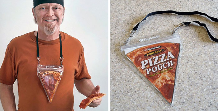 Portable Pizza Necklace Will Make Sure You're Always Together