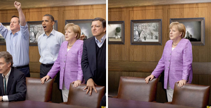 What Politics Looks Like When You Delete Men From The Photos