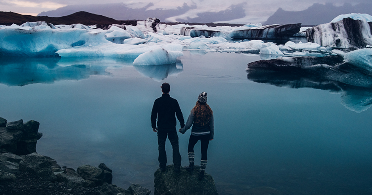 Couple Decides Not To Have A Traditional Wedding And Travels To Iceland Instead
