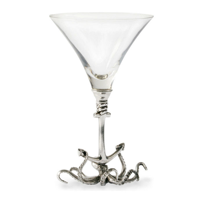 Octopus Wine Glass