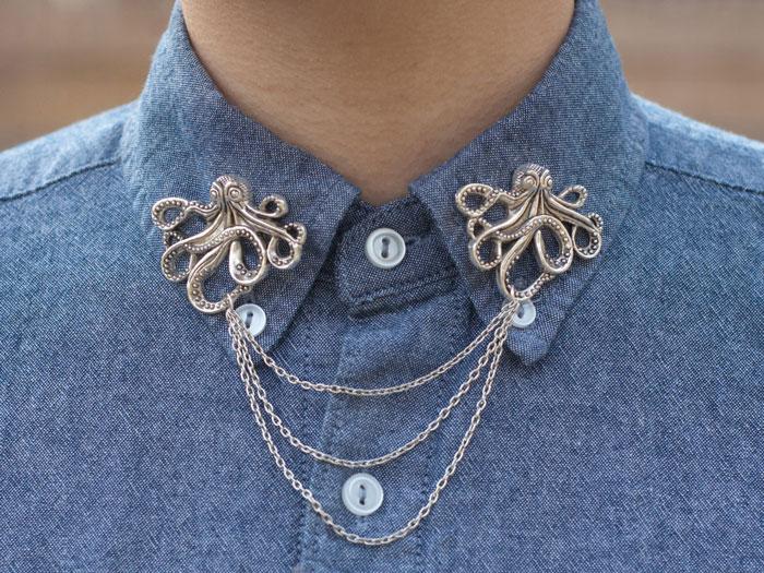 Octopus Collar Clip