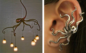 18+ Octopus-Inspired Design Ideas