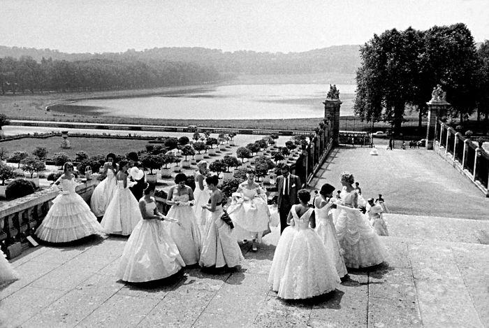 First U.S. Debutante Ball Held At Versailles Palace (1958)