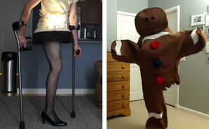 Every Halloween, This One-Legged Guy Makes A Halloween Costume. He Just Revealed His Newest Idea