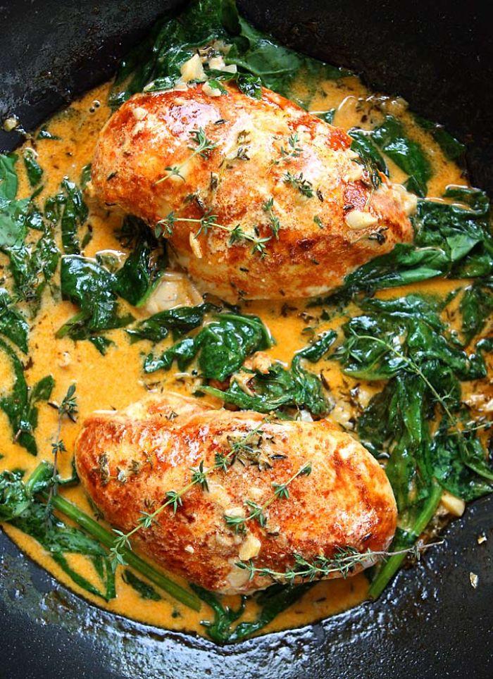 Pamper Your Palate – Skillet Chicken & Paprika Chicken In White Wine Sauce