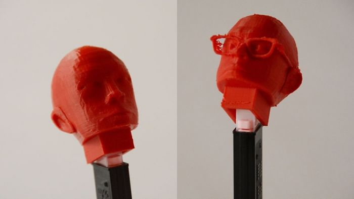 Ad Agency Turns New Creative Hires Into Pez Dispensers Using 3-d Printer
