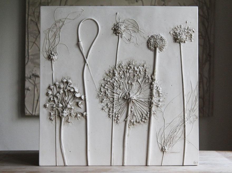 plaster-cast-flower-fossils-rachel-dein-10