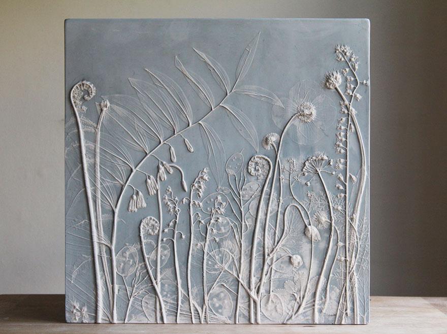 plaster-cast-flower-fossils-rachel-dein-13