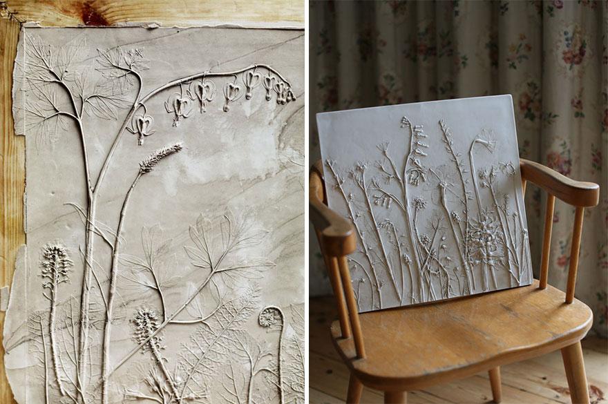 plaster-cast-flower-fossils-rachel-dein-36