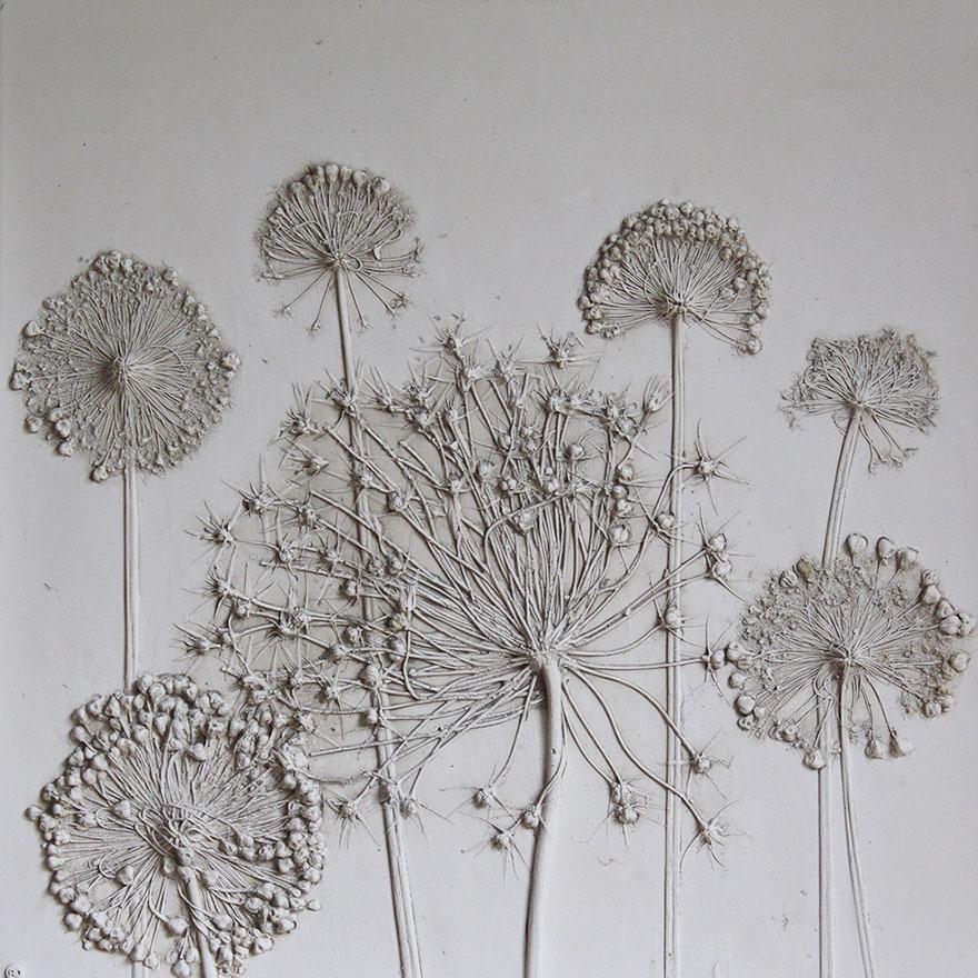 plaster-cast-flower-fossils-rachel-dein-5
