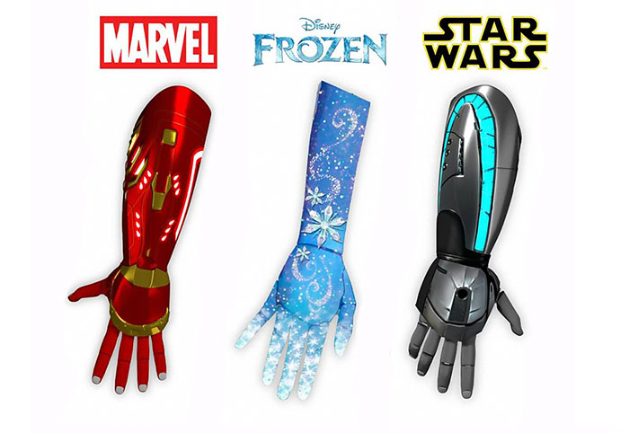 Disney-Themed Prosthetic Bionic Limbs To Be Made For Kids