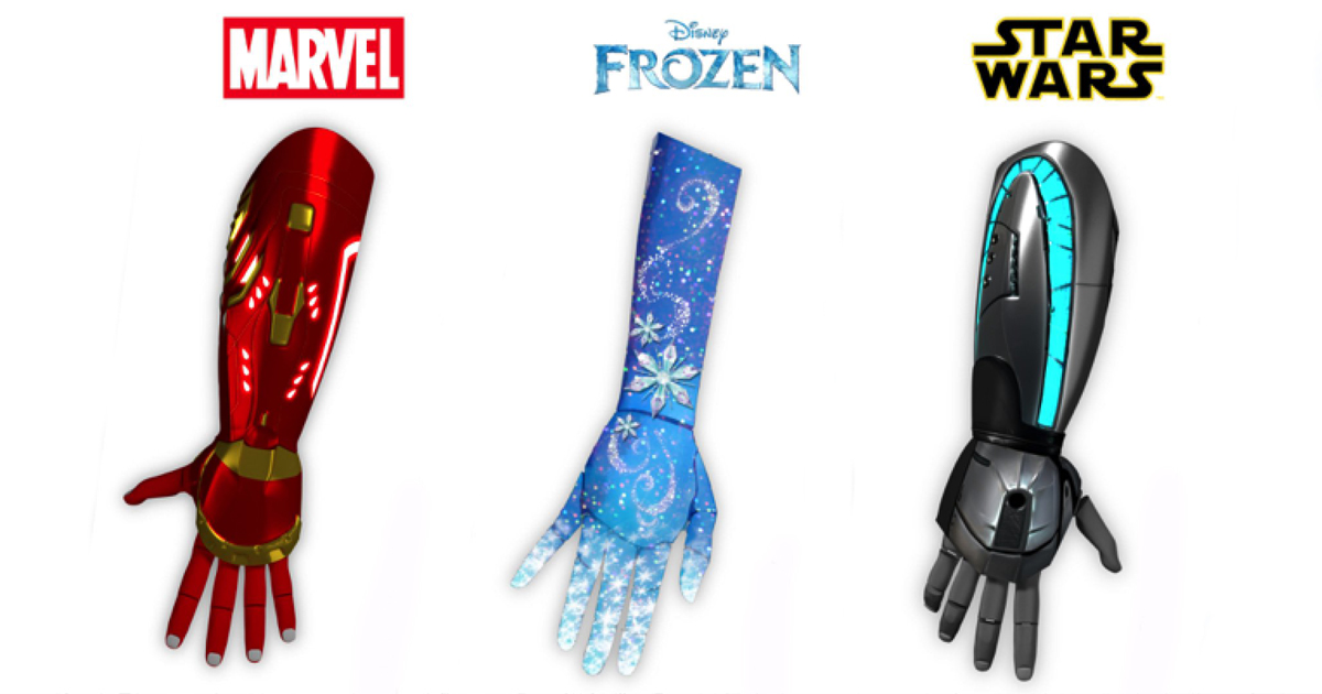 disney themed prosthetic bionic limbs to be made for kids bored panda