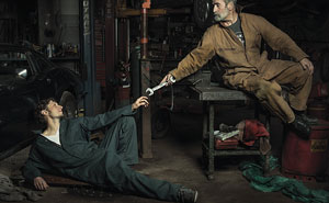 Auto Mechanics Hilariously Recreate Renaissance Paintings