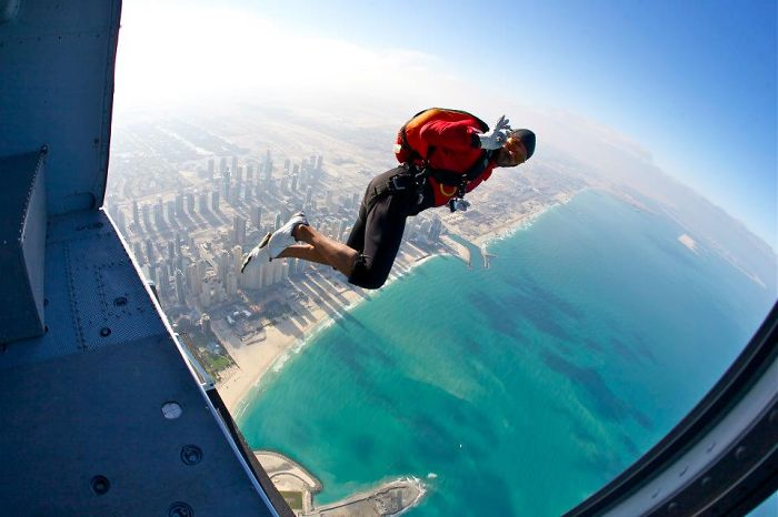 People Are Awesome Episode: Skydive Dubai