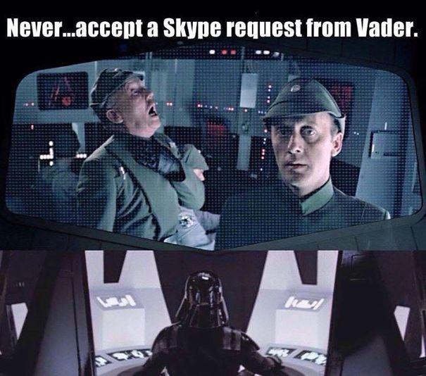 Block Darth Vader