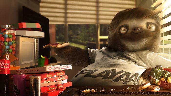 #slothsociallife