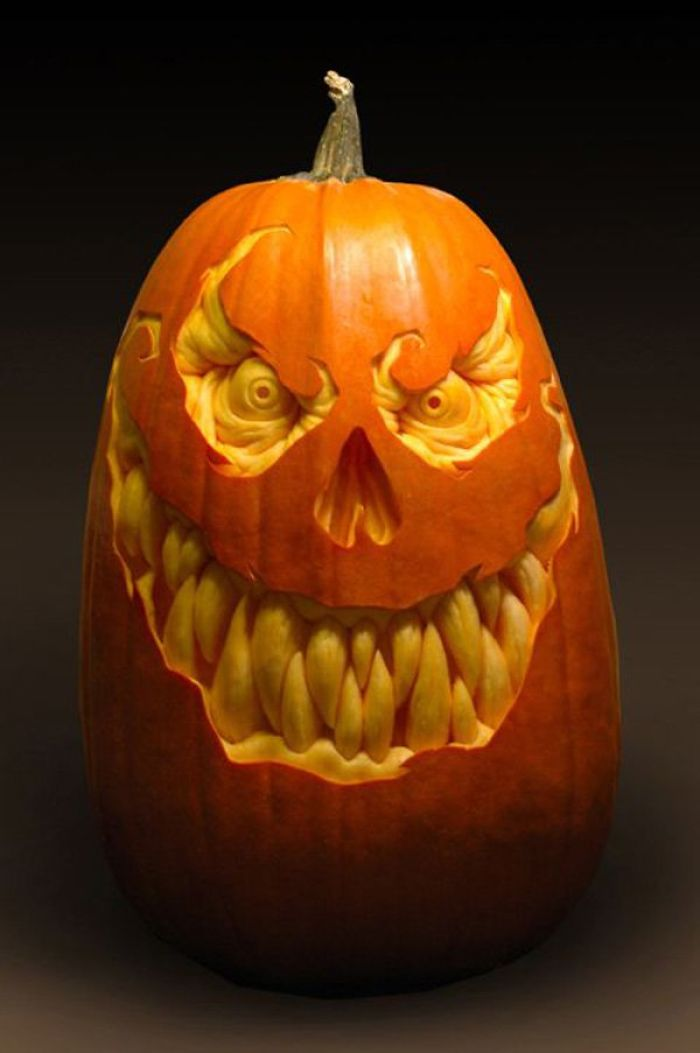 Spooky Pumpkin-carving Ideas