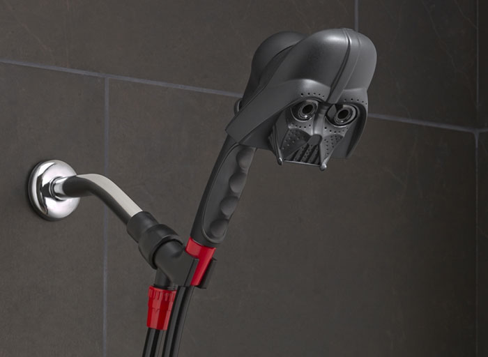 Star Wars Showerheads Will Let You Bathe In Vader's Tears