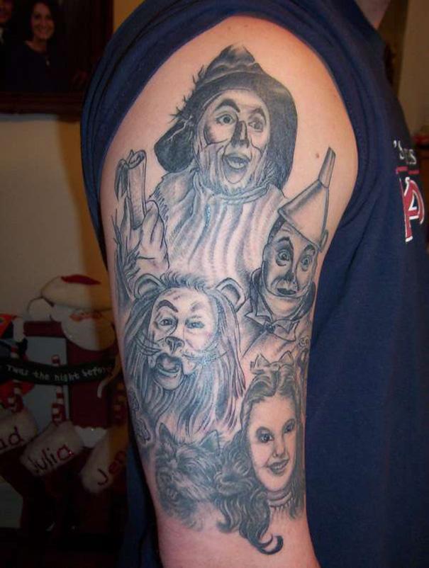 The Wonderful Wizard Of Oz Tattoo