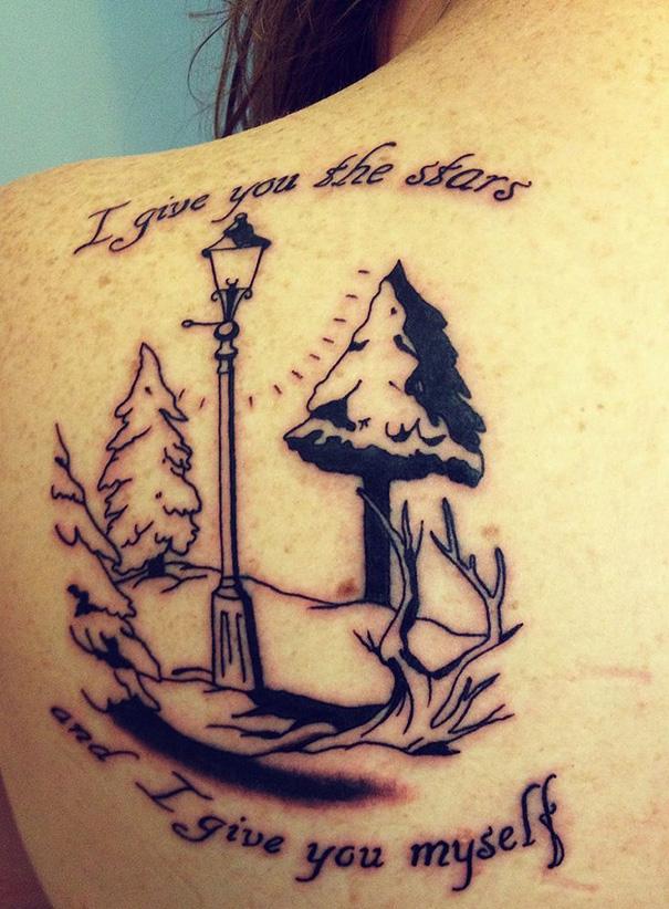 Chronicles Of Narnia Tattoo