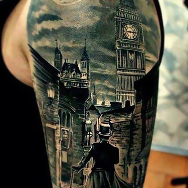 Sherlock Holmes Tattoo