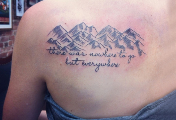 On The Road Tattoo
