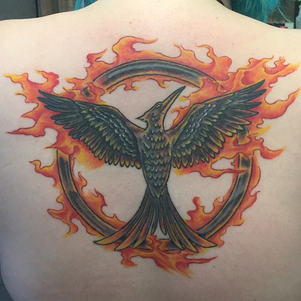 The Hunger Games Tattoo