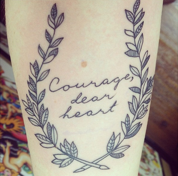 The Voyage Of The Dawn Treader Tattoo