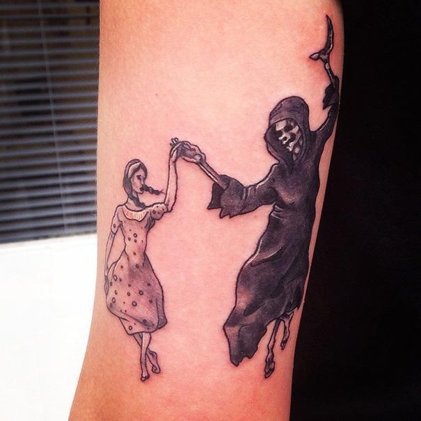 The Book Thief Tattoo