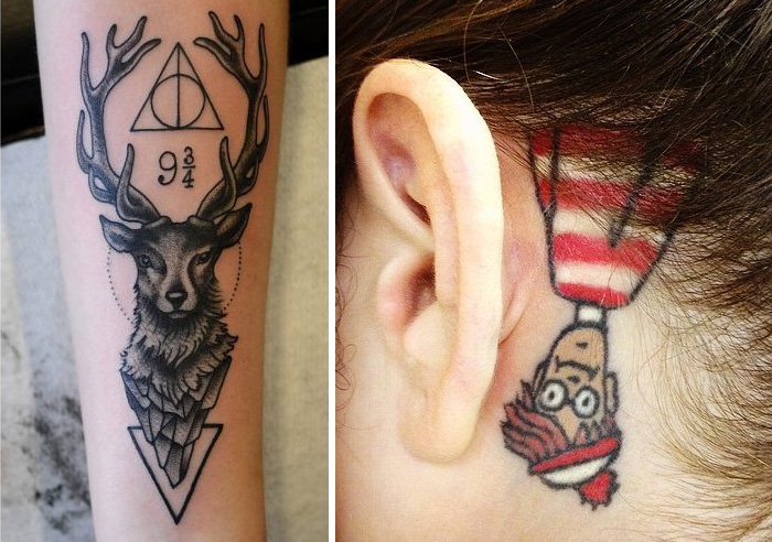 80 Book-Inspired Tattoos For Bookworms